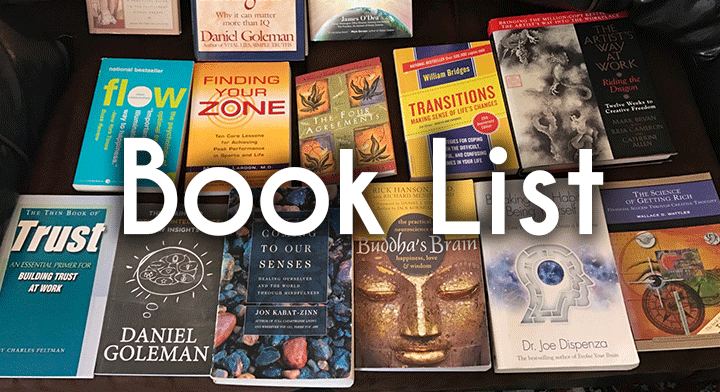 books recommended by center for self balance